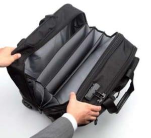 サンワダイレクトのキャリーバッグ