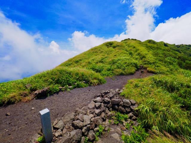 八丈島の山