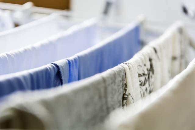 洗濯した服
