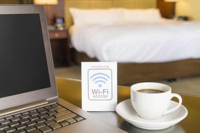 ホテルのWiFiサービス