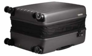 ダブルホイールのスーツケース